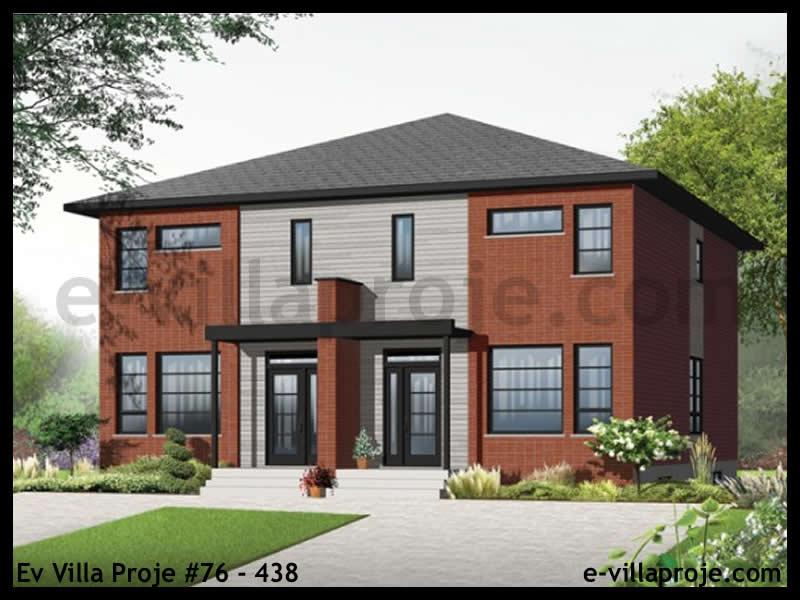 Ev Villa Proje #76 – 438, 2 katlı, 3 yatak odalı, 143 m2