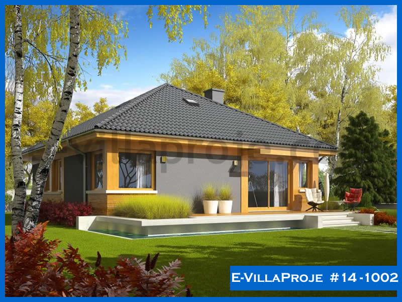 Ev Villa Proje #14 – 1002, 1 katlı, 3 yatak odalı, 115 m2