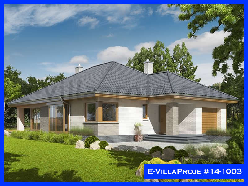 Ev Villa Proje #14 – 1003, 1 katlı, 3 yatak odalı, 161 m2