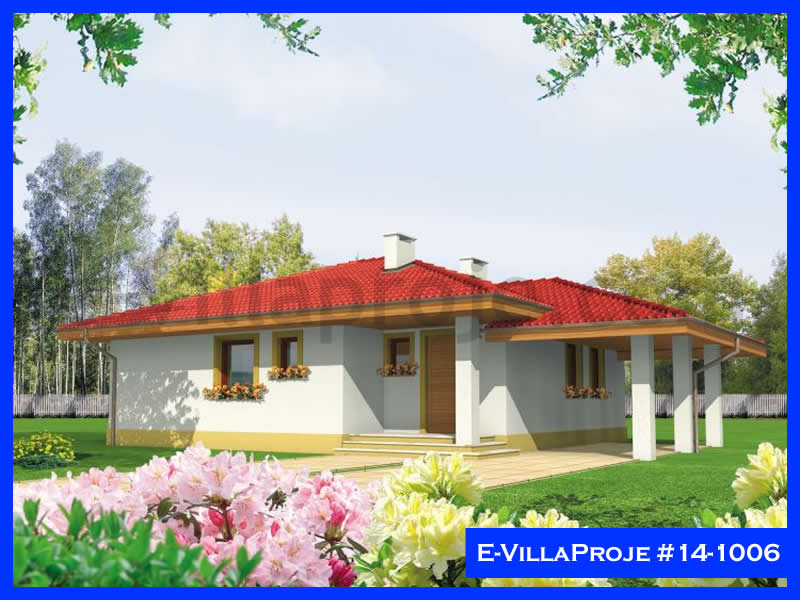 Ev Villa Proje #14 – 1006, 1 katlı, 2 yatak odalı, 94 m2