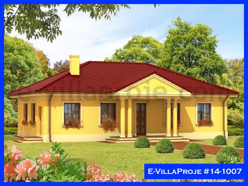 Ev Villa Proje #14 – 1007, 1 katlı, 4 yatak odalı, 138 m2
