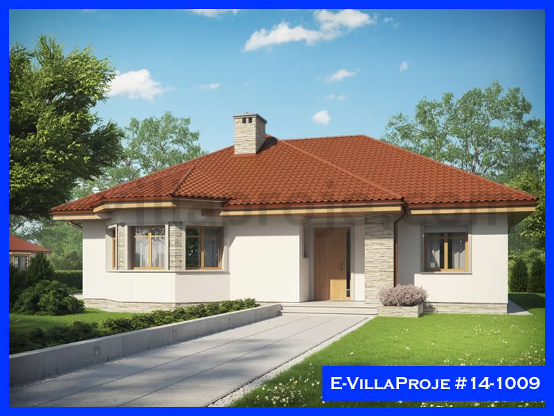 Ev Villa Proje #14 – 1009, 1 katlı, 3 yatak odalı, 136 m2