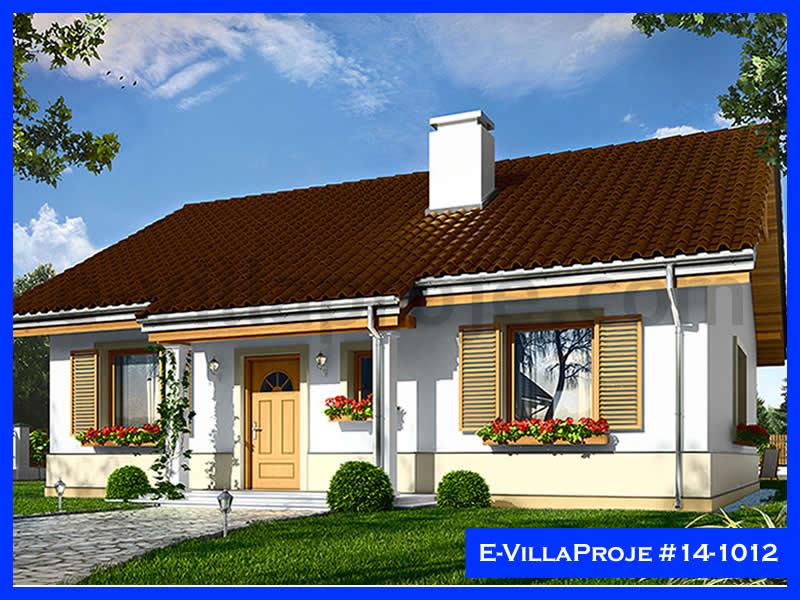 Ev Villa Proje #14 – 1012, 1 katlı, 2 yatak odalı, 108 m2