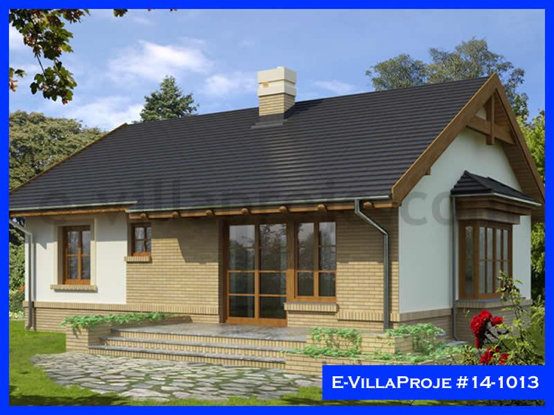 Ev Villa Proje #14 – 1013, 1 katlı, 2 yatak odalı, 96 m2