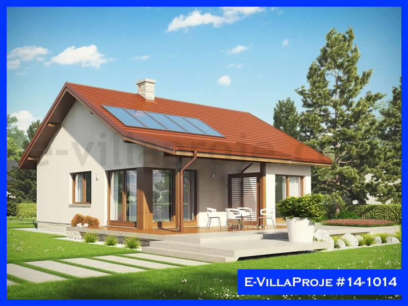 Ev Villa Proje #14 – 1014, 1 katlı, 2 yatak odalı, 104 m2