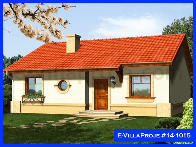 Ev Villa Proje #14 – 1015, 1 katlı, 3 yatak odalı, 107 m2