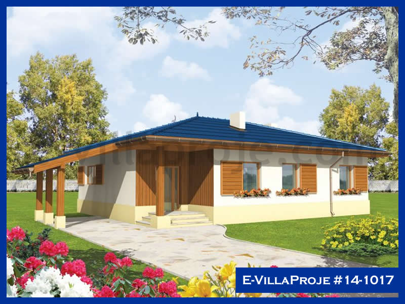 Ev Villa Proje #14 – 1017, 1 katlı, 2 yatak odalı, 104 m2