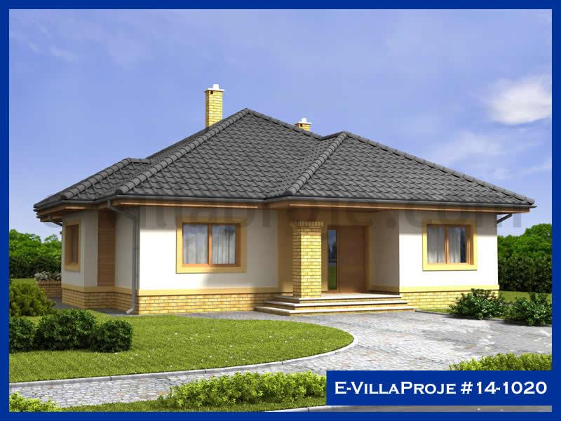 Ev Villa Proje #14 – 1020, 1 katlı, 3 yatak odalı, 150 m2