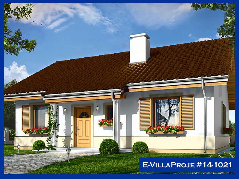 Ev Villa Proje #14 – 1021, 1 katlı, 2 yatak odalı, 108 m2