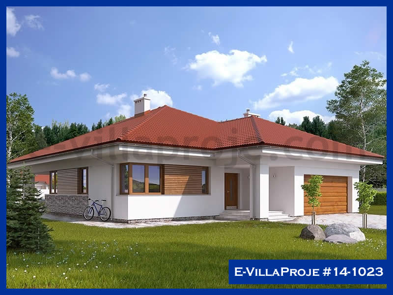 Ev Villa Proje #14 – 1023, 1 katlı, 4 yatak odalı, 189 m2
