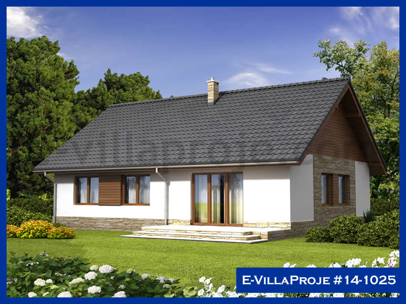 Ev Villa Proje #14 – 1025, 1 katlı, 3 yatak odalı, 138 m2