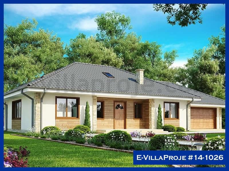 Ev Villa Proje #14 – 1026, 1 katlı, 3 yatak odalı, 1 garajlı, 148 m2