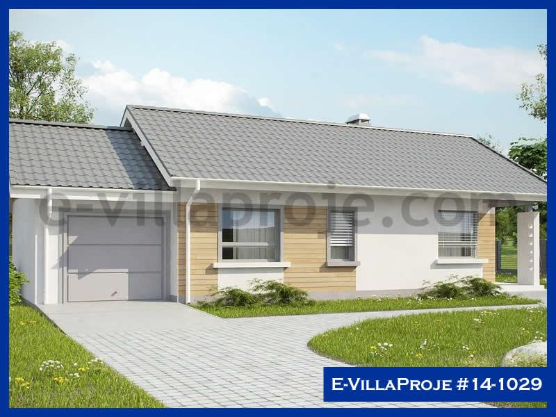 E-VillaProje #14-1029, 1 katlı, 2 yatak odalı, 1 garajlı, 98 m2