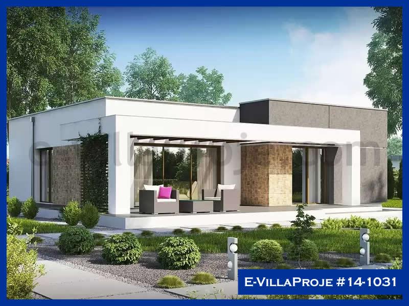 E-VillaProje #14-1031, 1 katlı, 2 yatak odalı, 107 m2