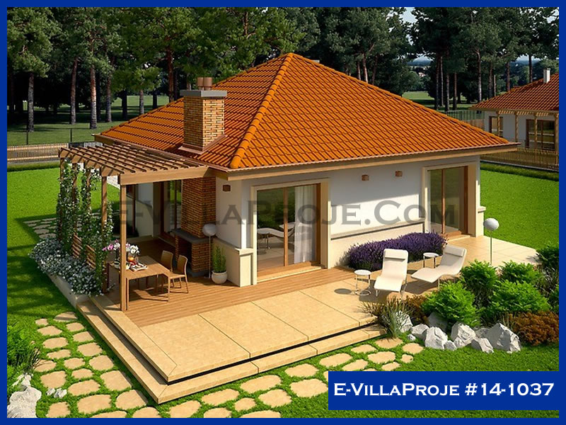 E-VillaProje #14-1037, 1 katlı, 2 yatak odalı, 85 m2