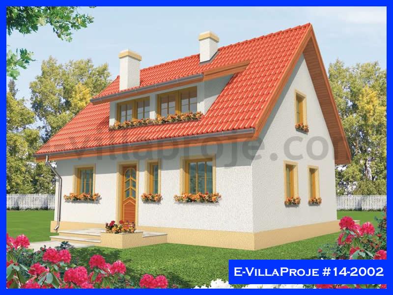 Ev Villa Proje #14 – 2002, 2 katlı, 3 yatak odalı, 117 m2