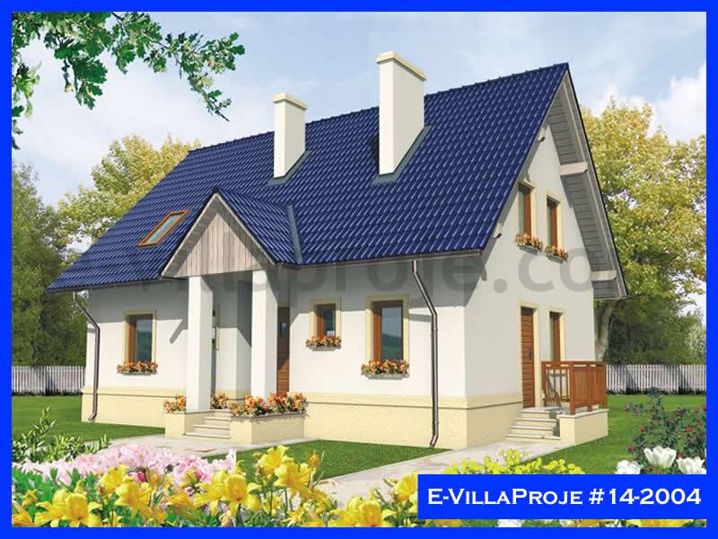 Ev Villa Proje #14 – 2004, 2 katlı, 3 yatak odalı, 181 m2
