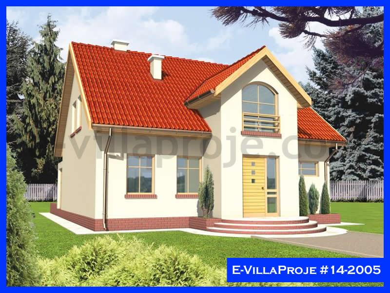 Ev Villa Proje #14 – 2005, 2 katlı, 3 yatak odalı, 0 garajlı, 196 m2