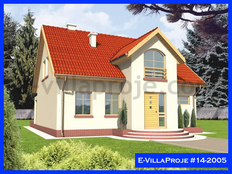 Ev Villa Proje #14 – 2005, 1 katlı, 1 yatak odalı, 196 m2