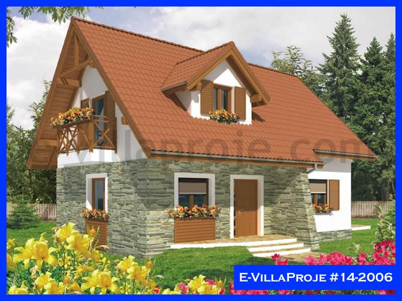 Ev Villa Proje #14 – 2006, 2 katlı, 3 yatak odalı, 124 m2