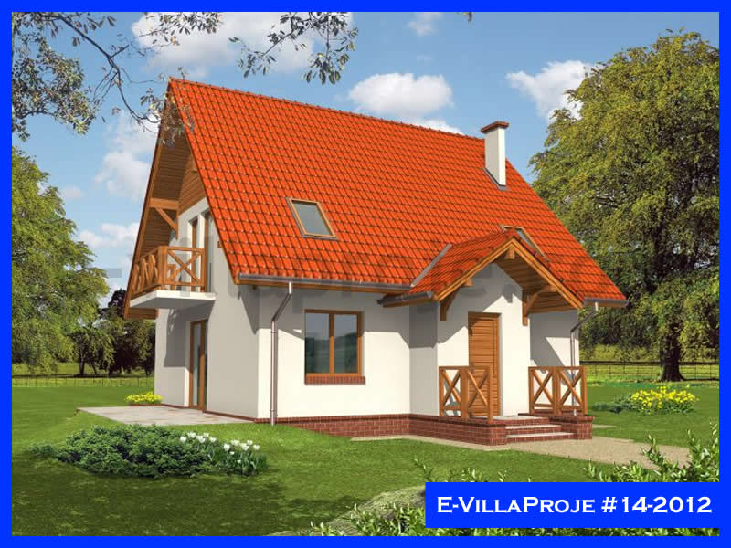 Ev Villa Proje #14 – 2012, 2 katlı, 3 yatak odalı, 146 m2