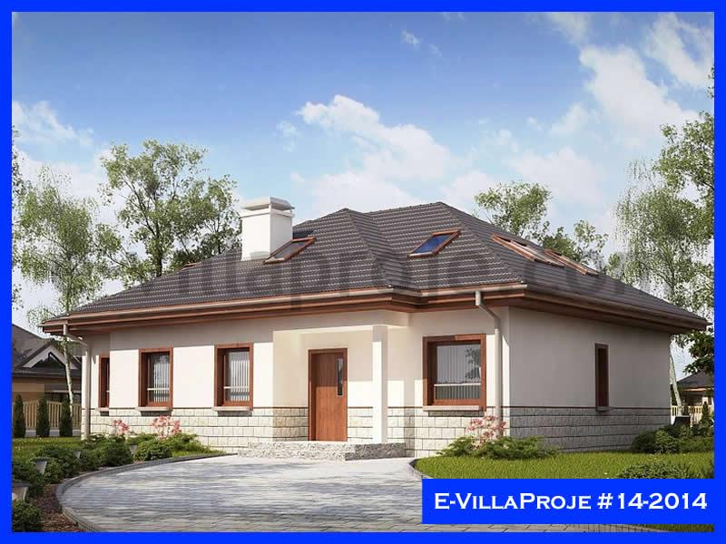Ev Villa Proje #14 – 2014, 2 katlı, 6 yatak odalı, 309 m2