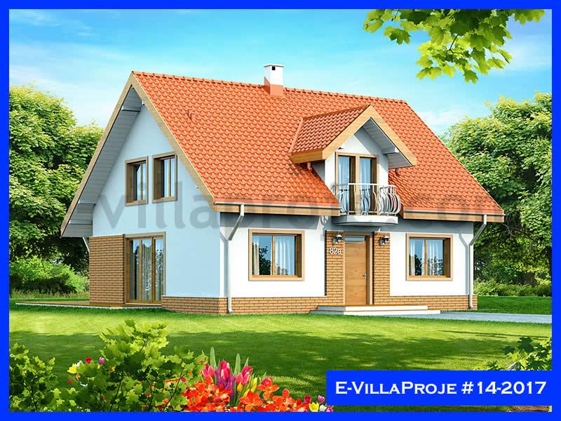 Ev Villa Proje #14 – 2017, 2 katlı, 4 yatak odalı, 238 m2