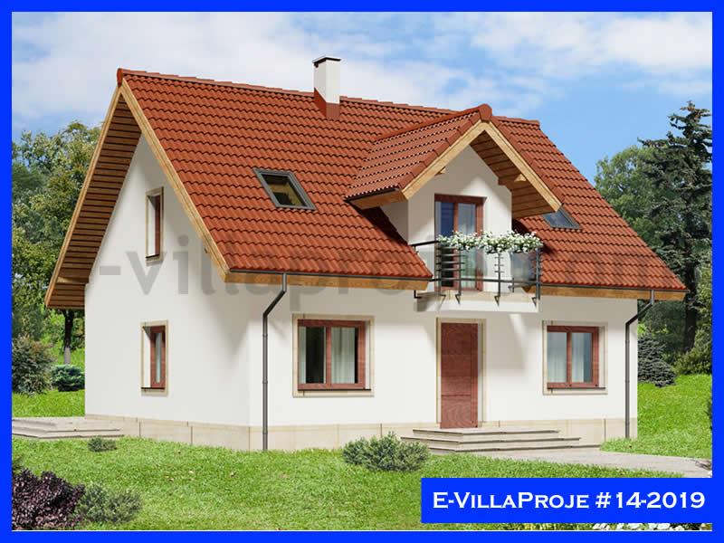 Ev Villa Proje #14 – 2019, 2 katlı, 4 yatak odalı, 199 m2