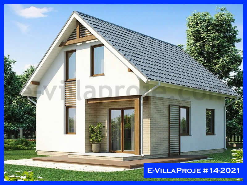 Ev Villa Proje #14 – 2021, 2 katlı, 4 yatak odalı, 126 m2