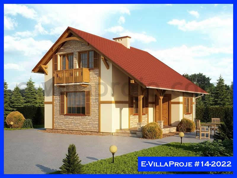 Ev Villa Proje #14 – 2022, 2 katlı, 2 yatak odalı, 92 m2