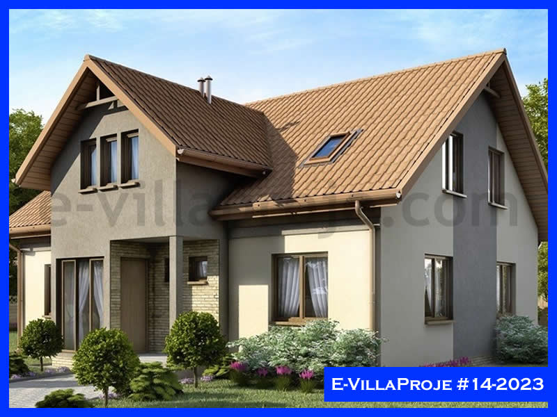 Ev Villa Proje #14 – 2023, 2 katlı, 1 yatak odalı, 259 m2