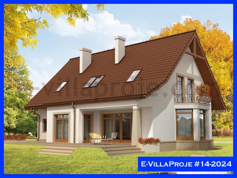 Ev Villa Proje #14 – 2024, 2 katlı, 3 yatak odalı, 1 garajlı, 252 m2