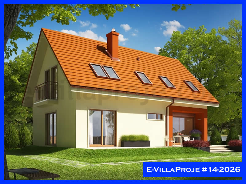 Ev Villa Proje #14 – 2026, 2 katlı, 3 yatak odalı, 179 m2