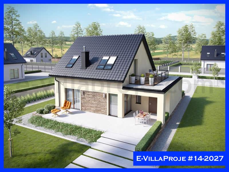 Ev Villa Proje #14 – 2027, 2 katlı, 3 yatak odalı, 177 m2