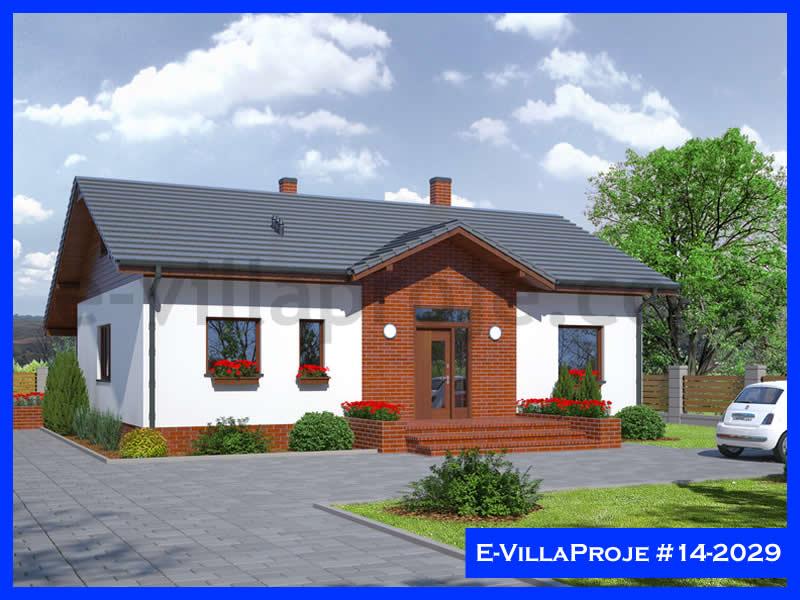 Ev Villa Proje #14 – 2029, 2 katlı, 3 yatak odalı, 239 m2