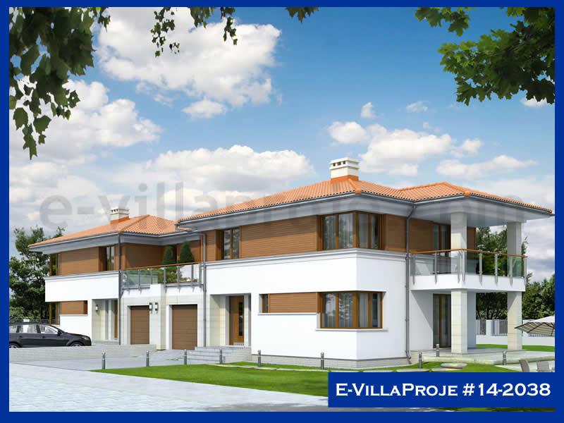Ev Villa Proje #14 – 2038, 2 katlı, 3 yatak odalı, 1 garajlı, 220 m2