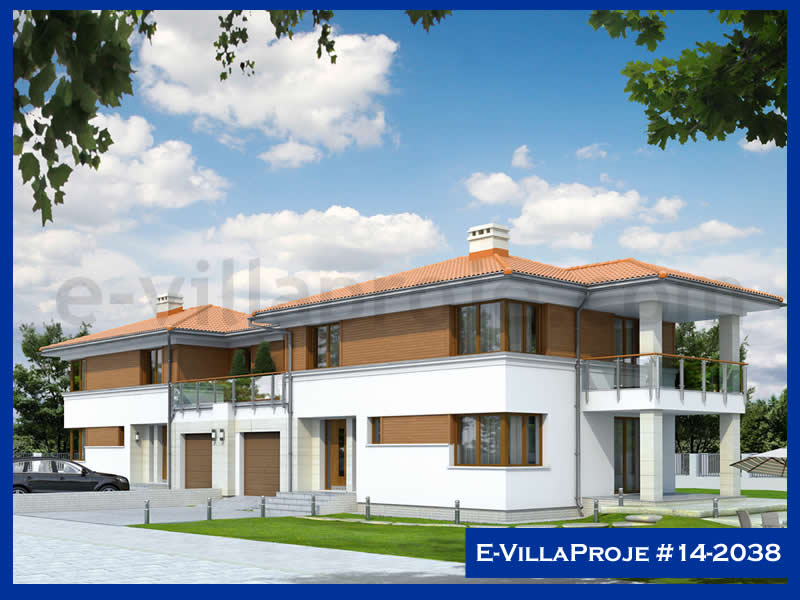 Ev Villa Proje #14 – 2038, 2 katlı, 3 yatak odalı, 220 m2