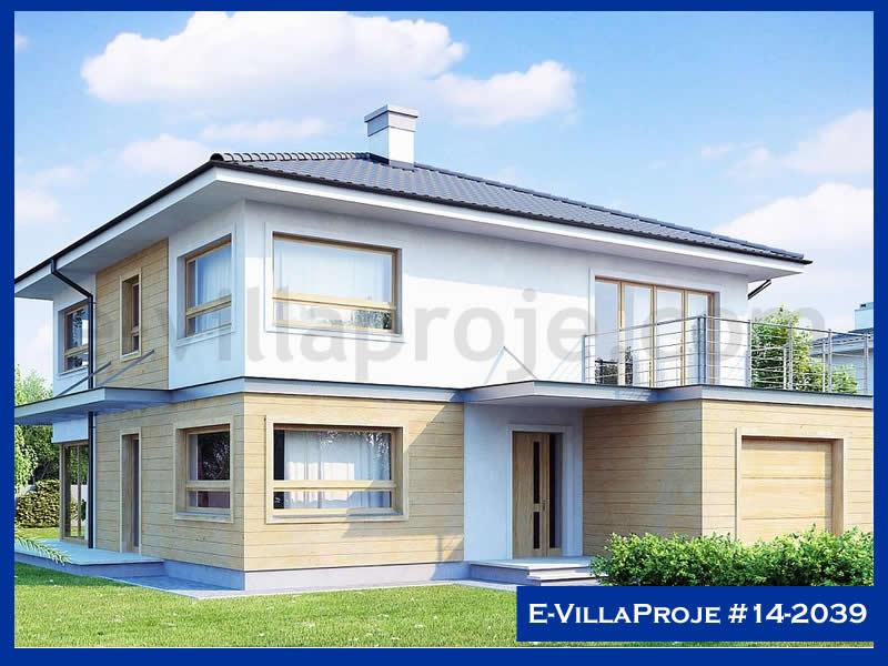 Ev Villa Proje #14 – 2039, 2 katlı, 4 yatak odalı, 1 garajlı, 207 m2