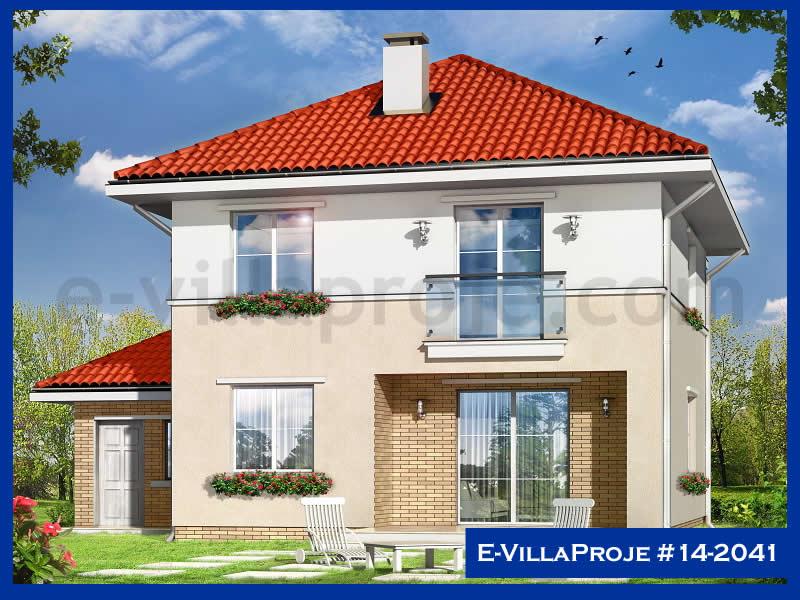 Ev Villa Proje #14 – 2041, 2 katlı, 4 yatak odalı, 1 garajlı, 195 m2