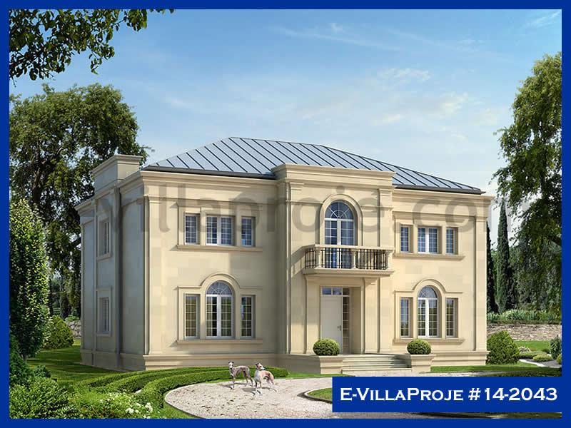 Ev Villa Proje #14 – 2043, 2 katlı, 4 yatak odalı, 414 m2