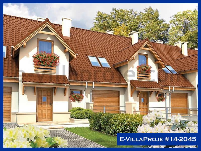 Ev Villa Proje #14 – 2045, 1 katlı, 1 yatak odalı, 127 m2