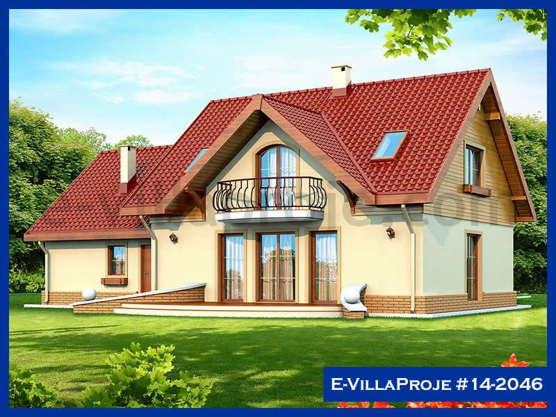 Ev Villa Proje #14 – 2046, 2 katlı, 4 yatak odalı, 2 garajlı, 202 m2