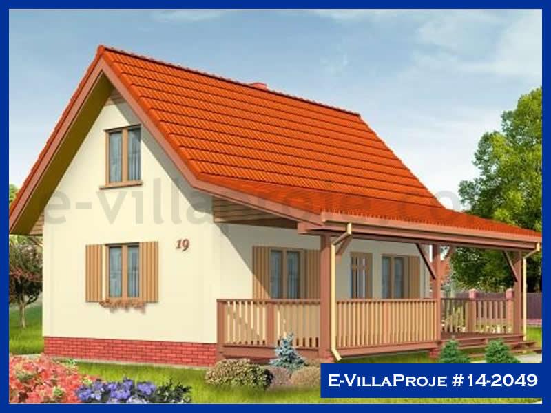 Ev Villa Proje #14 – 2049, 2 katlı, 2 yatak odalı, 100 m2