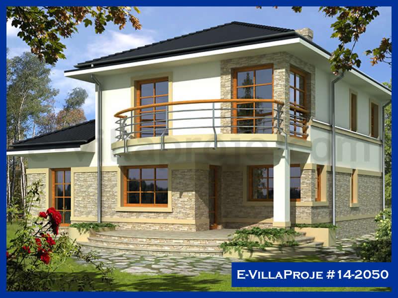 Ev Villa Proje #14 – 2050, 2 katlı, 4 yatak odalı, 1 garajlı, 175 m2