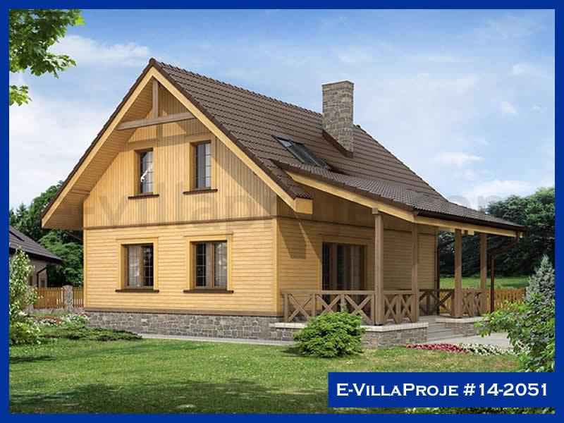 Ev Villa Proje #14 – 2052, 2 katlı, 4 yatak odalı, 168 m2