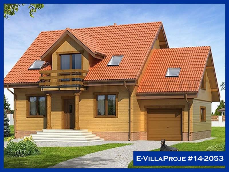 Ev Villa Proje #14 – 2053, 2 katlı, 3 yatak odalı, 1 garajlı, 152 m2