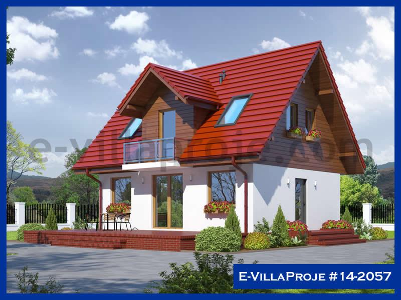 Ev Villa Proje #14 – 2057, 2 katlı, 3 yatak odalı, 92 m2