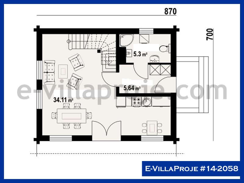 Ev Villa Proje #14 – 2058