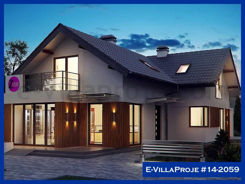 Ev Villa Proje #14 – 2059, 2 katlı, 3 yatak odalı, 223 m2