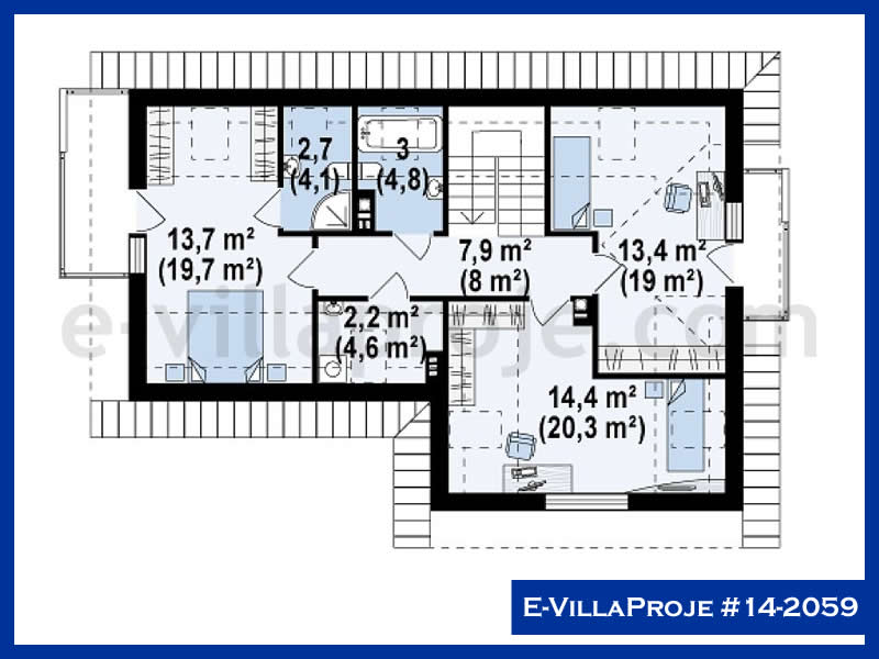 Ev Villa Proje #14 – 2059